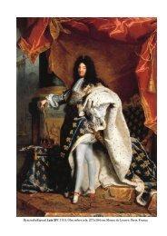 HyacintheRigaud, Luís XIV, 1701. Óleo sobre tela, 277x194 cm ...