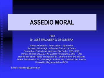 Erivalder Guimarães - Prefeitura de São Paulo