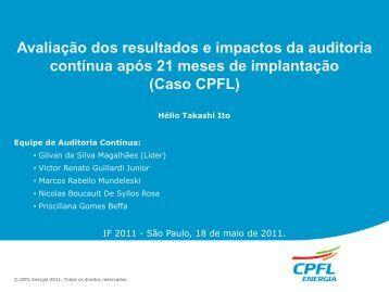 Avaliação dos resultados e impactos da auditoria Contínua ...