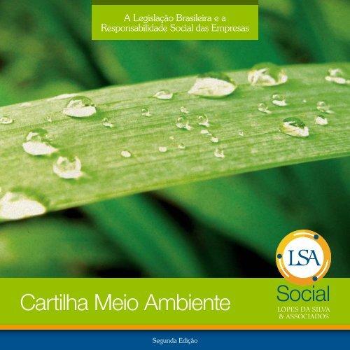 Cartilha Meio Ambiente - Secretaria do Meio Ambiente e Recursos ...