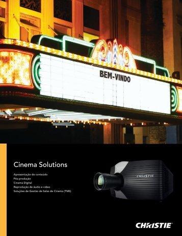 Cinema Solutions - Christie Digital Systems