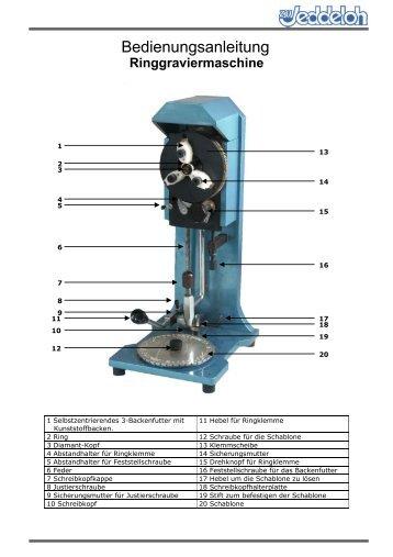 Ringgraviermaschine - Horst zu Jeddeloh