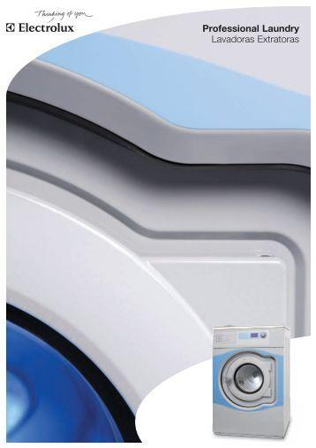 Professional Laundry Lavadoras Extratoras - Weloze