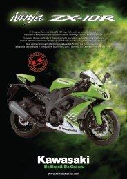 Folheto Ninja ZX10R F - Kawasaki