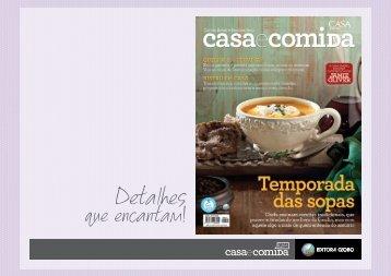 Casa e Comida - Editora Globo