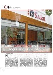 COMIDA JAPONESACOM ARTE E - revista sala de espera