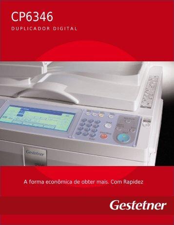 CP6346 - FM - Sistemas de Impressão