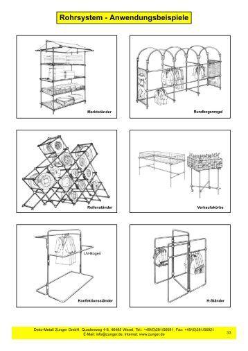 Plakatrahmen deko metall zunger gmbh for Deko metall