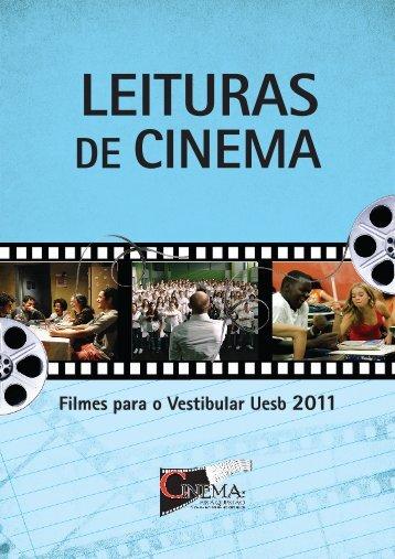 """o livreto """"Leituras de Cinema"""" - Uesb"""