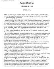 Machado de Assis - Várias Histórias - PSB