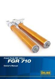 Front Fork RR 125cc FGR 710 - Zupin
