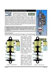 Cane Creek Double Barrel Instructions - Zupin