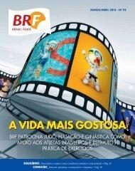 Revista BRF Março / Abril 2012 – Edição 92 Arquivo PDF