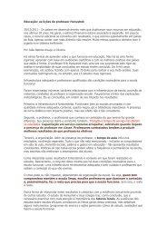 Leia o artigo completo em pdf...