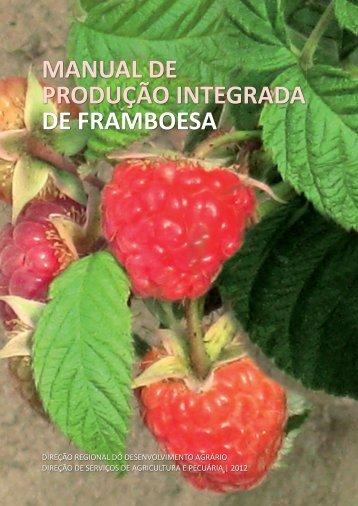 manual de produção integrada de framboesa - Presidência do ...