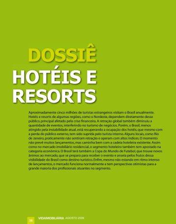 DOSSIÊ HOTÉIS E RESORTS - Vida Imobiliaria Brasil