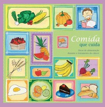 Livro Comida que cuida - Sociedade Brasileira de Oncologia Clínica