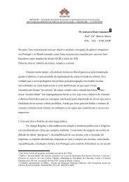 Os censores lêem romances - Caminhos do Romance - Unicamp