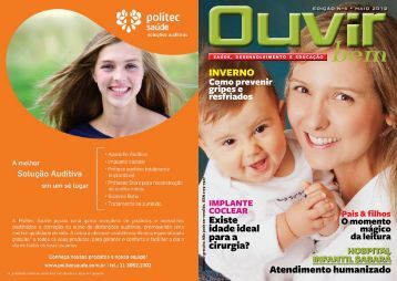 atendimento humanizado invErnO - Fundação Otorrinolaringologia