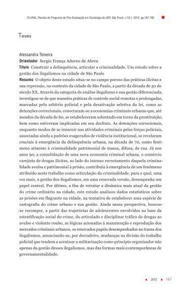 Alessandra Teixeira - fflch - USP