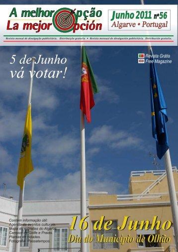 Agenda de Eventos, Município de Olh oã - a melhor opção - revista