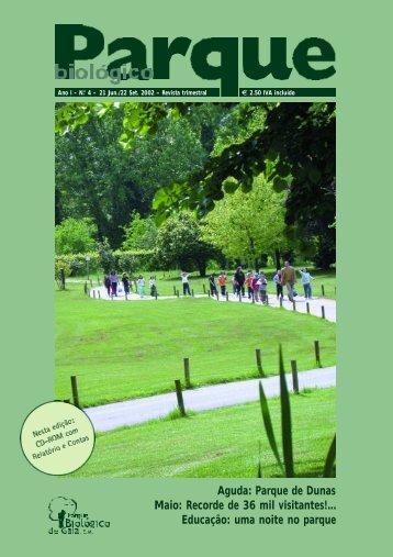 Educação: uma noite no parque - Parque Biológico de Gaia