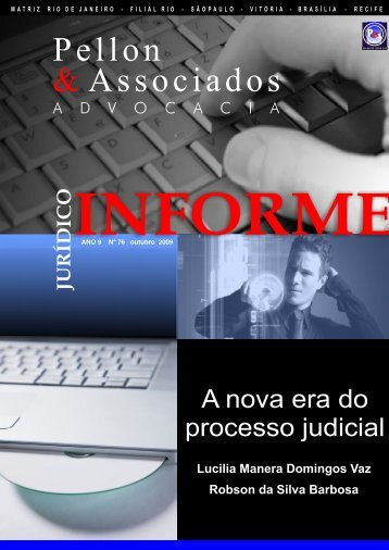 Informe Jurídico outubro 2009-2 - Pellon & Associados