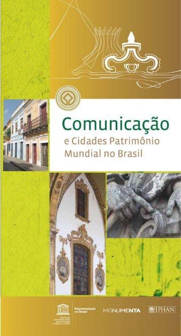 Comunicação e cidades Patrimônio Mundial no ... - unesdoc - Unesco