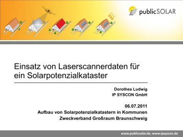 Vortrag Ludwig - Zweckverband Grossraum Braunschweig