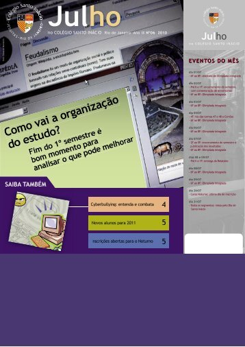 Julho - Colégio Santo Inácio