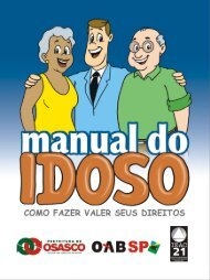 Manual do Idoso - 2007 - Ordem dos Advogados do Brasil