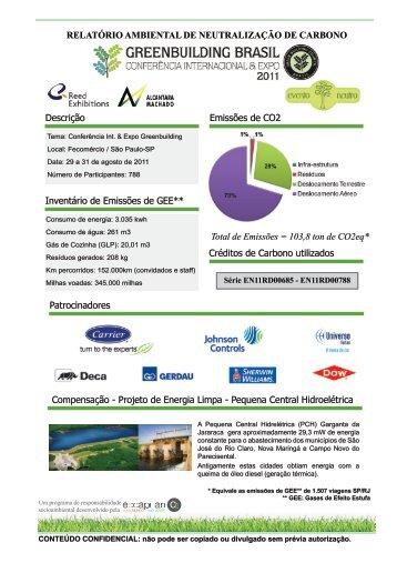 Greenbuilding Conferência Internacional & Expo 2011 - GBC Brasil