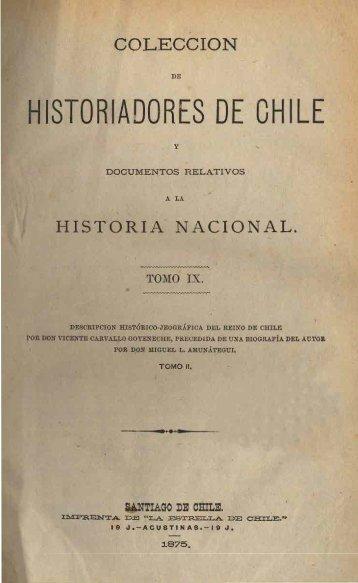 COLECCION - Memoria Chilena