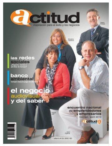 Edición No.23 - Actitud