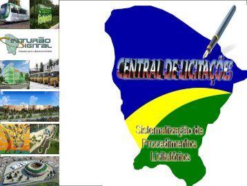 A Central de Licitações - Edmar Mendes - Portalcompras.ce.gov.br ...