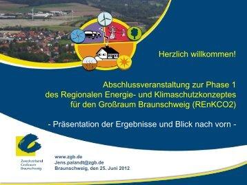 Regionales Energie- und Klimaschutzkonzept - Zweckverband ...