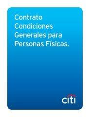 Contrato de Condiciones Generales - Citibank