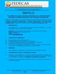 Convocatoria oficial del Evento - Sportalsub.net