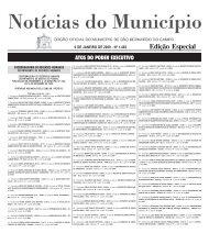 Edição Especial - Prefeitura de São Bernardo