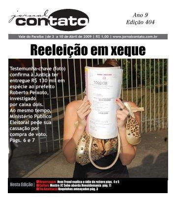 Reeleição em xeque - Jornal Contato