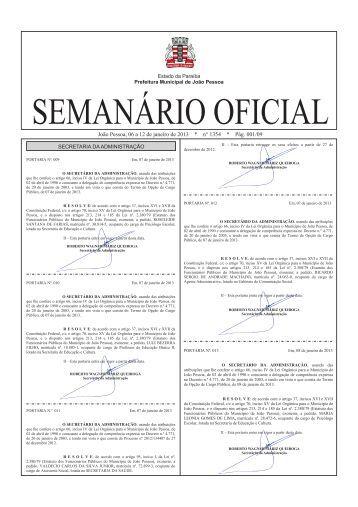 Normal - Prefeitura Municipal de João Pessoa
