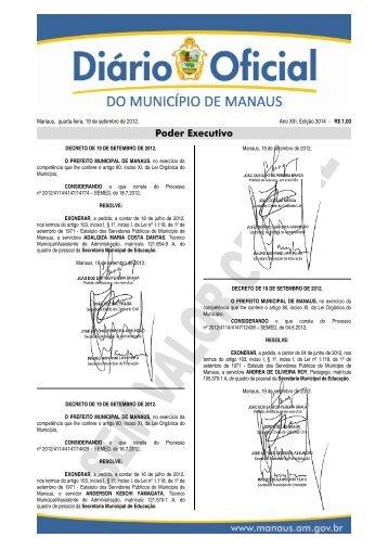 Poder Executivo - Diário Oficial do Município