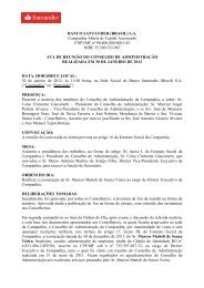 Ata da RCA - Santander