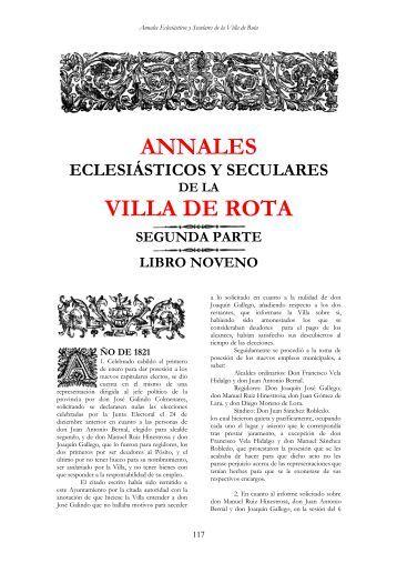 Annales 1821 - Ayuntamiento de Rota