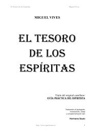 El Tesoro de los Espíritas - Federación Espírita Española