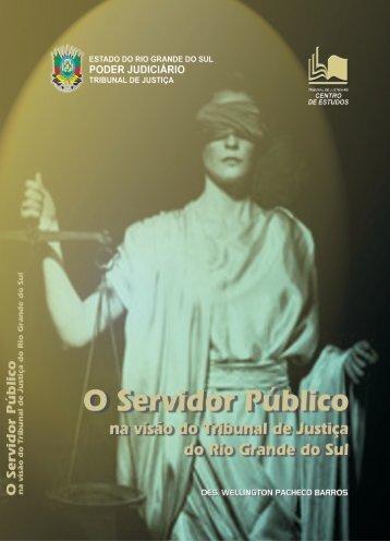 Servidor Público na Visão do TJ.p65 - Tribunal de Justiça do Estado ...