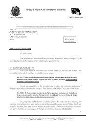 define a possibilidade de exoneração de fiança - Creci-SP