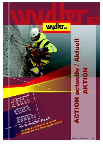 Crystal Reports - catalogue action par crystal.rpt - Wydler SA Corail SA