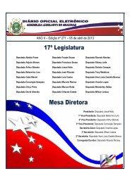 Edição 271 - Assembléia Legislativa do Estado do Amazonas