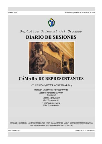 DIARIO DE SESIONES - Poder Legislativo